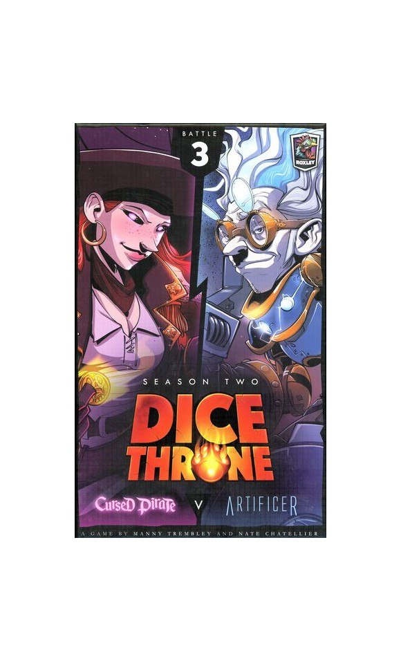 Dice Throne - Season 2 - Cursed Pirate v. Artificier (ROX604)