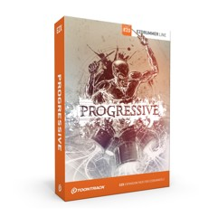 Toontrack - EZX The Progressive - Expansion Pack For EZdrummer (DOWNLOAD)