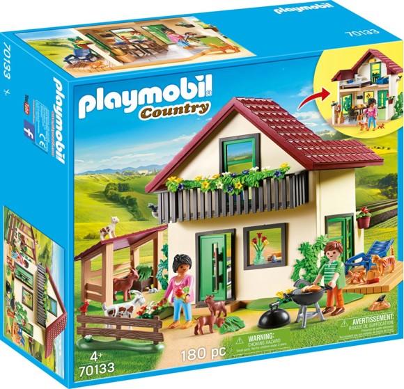 Playmobil - Moderne gårdhus (70133)
