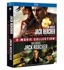 Jack Reacher 1+2 - Box (Blu-Ray)