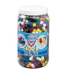 HAMA Beads - Maxi - Beads in bucket - 1400pcs (8540)