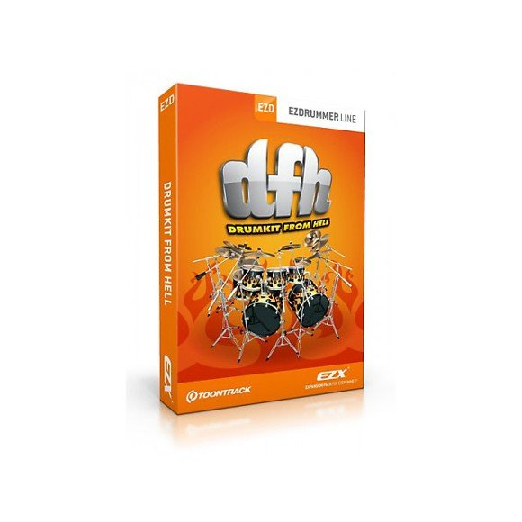 Toontrack - EZX Drumkit From Hell - Expansion Pack From EZdrummer (DOWNLOAD)