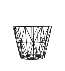 Ferm Living - Wire Trådkurv Lille - Sort