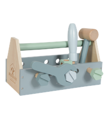 Little Dutch - Wooden Toolbox, Blue (LDW4434)