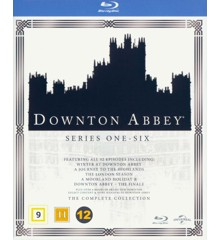 Downton Abbey: Complete Box - Sæson 1-6 (Blu-Ray)