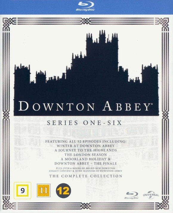 Downton Abbey: Complete Box - Season 1-6 (Blu-Ray)