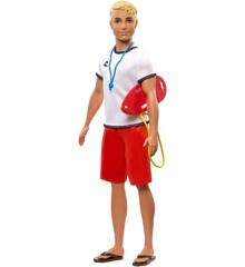 Barbie - Ken Livredder Dukke