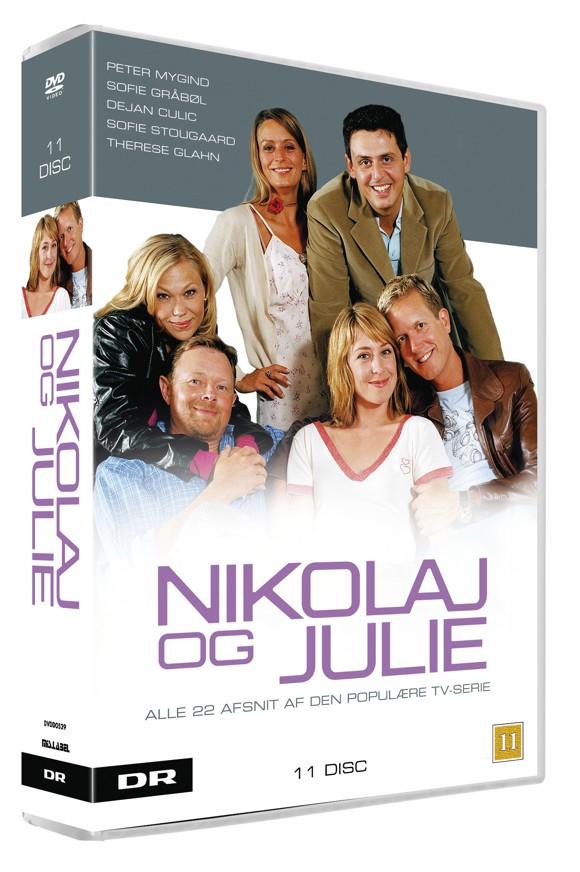 Nikolaj og Julie: Hele serien - DVD