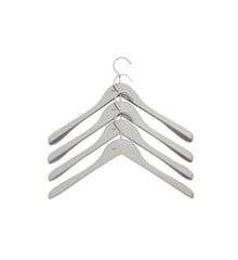 HAY - Soft Coat Hanger Wide Set of 4 - Grey (500077)