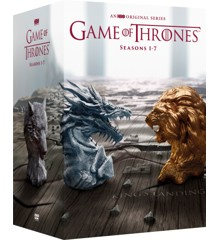 Game of Thrones Sæson 1-7 box-set - DVD