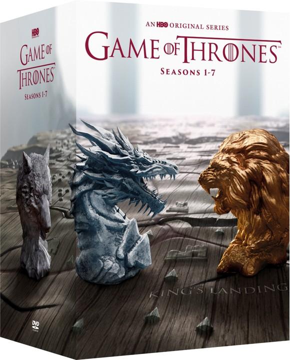 Game of Thrones Sæson 1-7 box-set - DVD