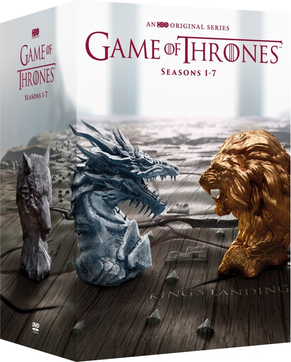 Game of Thrones Season 1-7 box-set - DVD