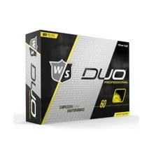 WILSON STAFF - DUO PRO YELLOW MATTE GOLF BALLS