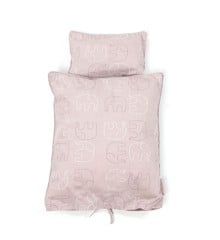 Smallstuff - Doll Bedding - Rose Elephant