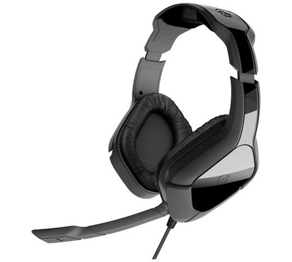 Gioteck HC2 Over-Ear Wired Stereo Headset - Black