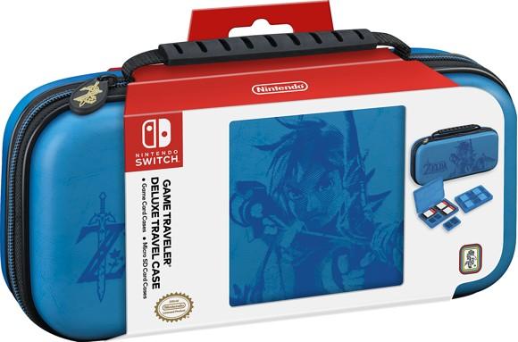 Nintendo Switch Deluxe Travel Case - Zelda (Blue)