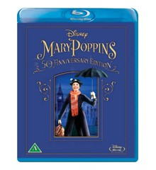Mary Poppins - 50-Års Jubilæumsudgave (Blu-Ray)