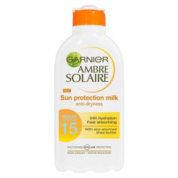 Garnier - Ambre Solaire - Sun Protection Milk 200 ml - SPF 15