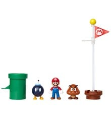 "Nintendo - 2.5"" - Acorn Plains Diorama Set (85987)"