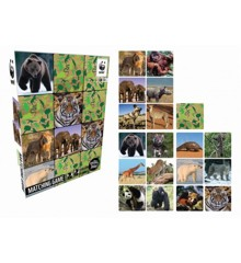 WWF - Memory Game - Wild Animals (WWF1801)