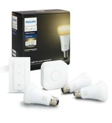 Philips Hue - E27  Starter kit (3-Pack) - White ambiance - Bluetooth