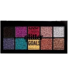 NYX Professional Makeup - Glitter Goals Cream PRO Palette