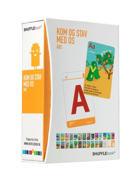 Shufflebook - Kom og Stav med os - ABC