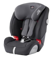 Britax Römer - Evolva 1-2-3 SL SICT Car Seat (9-36kg) - Storm Grey
