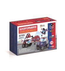Magformers - Amazing Police Rescue set, 16 pc (3069)
