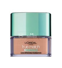 L'Oréal - True Match Minerals Powder Foundation SPF 19 - 3N Beige Creme