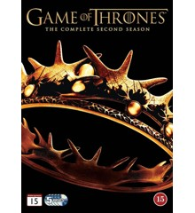 Game of Thrones: Sæson 2 - DVD