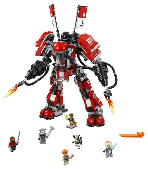 LEGO Ninjago - Movie - Fire Mech (70615)