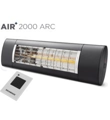 Solamagic - AIR+ 2000 ARC Terrassevarmer Anthracite
