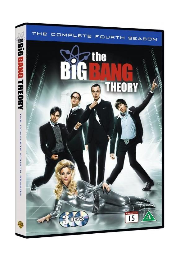 Big Bang Theory, The: Season 4 - DVD