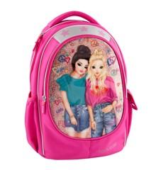 Top Model - Friends - Skoletaske - Pink