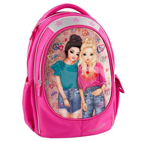 Top Model - School Bag - Friends, Pink (048512)