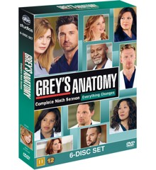 Greys Anatomy/Greys Hvide Verden - saeson 9 - DVD