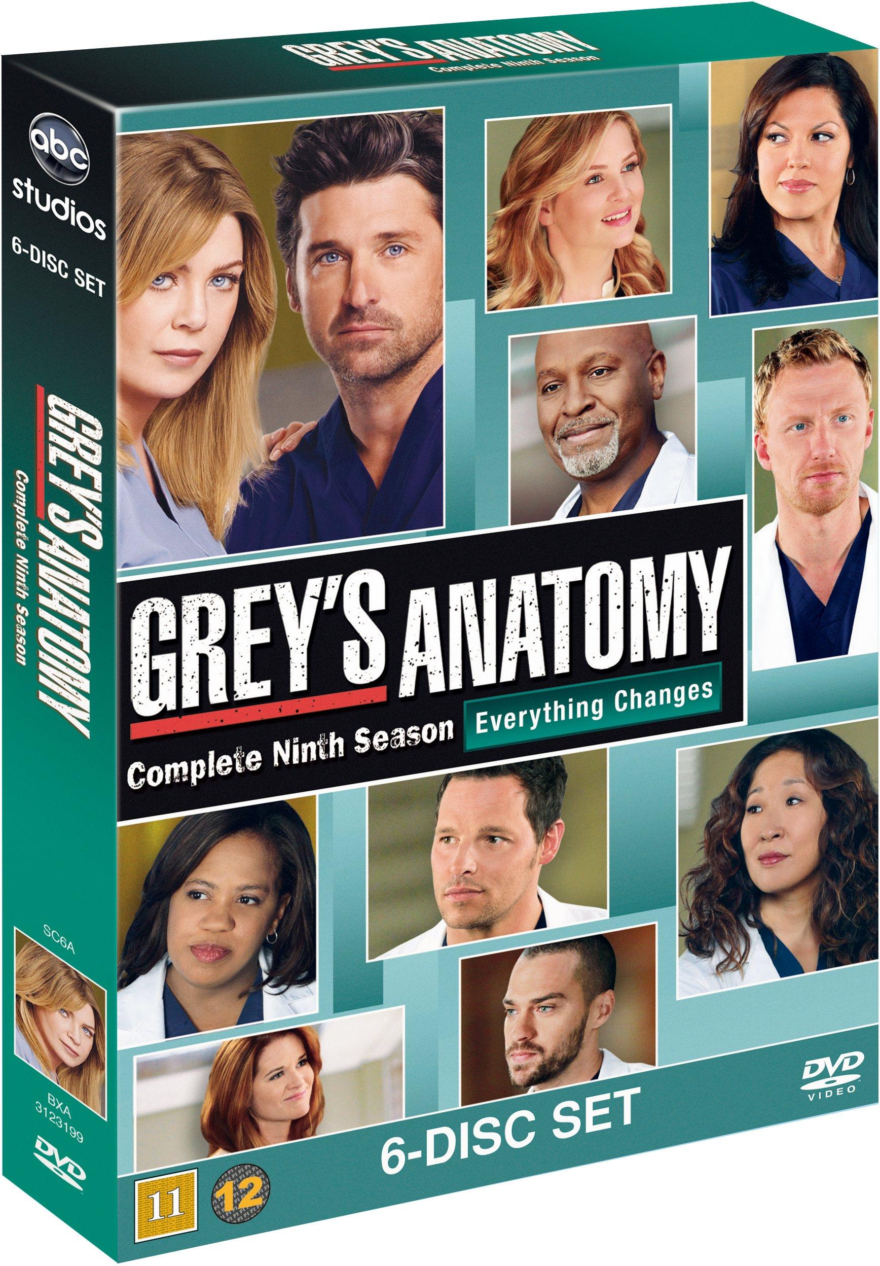 Greys Hvide Verden/Greys Anatomy - sæson 9 - DVD