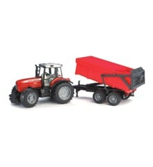Bruder - Massey Ferguson 7480 with tipping trailer (BR2045)