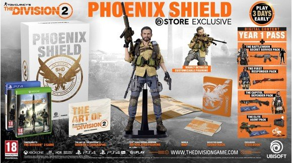 ​The Division 2 Phoenix Shield Box (No Game Included)