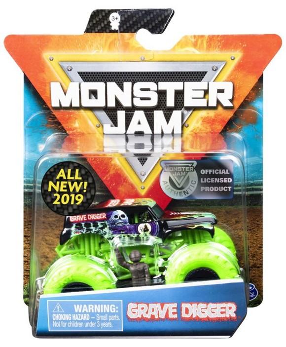 Monster Jam - 1:64 Single Pack - Grave Digger (20103399)