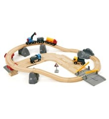 BRIO - Rail & Road Loading Set (33208)