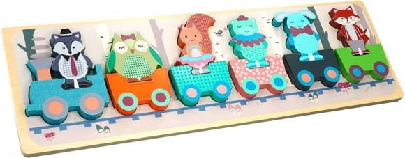 Barbo Toys - Forest Friends - Tut tut Tog