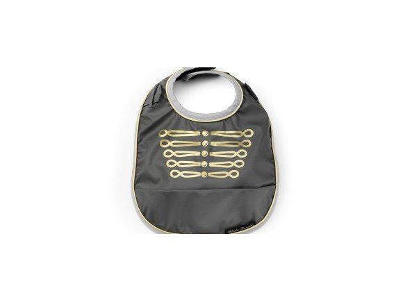 Elodie Details - Eating Bib - Golden Grey