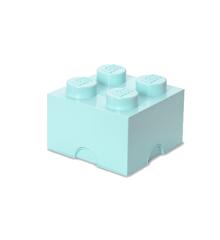 Room Copenhagen - LEGO Opbevaringskasse Brick 4 - Aqua