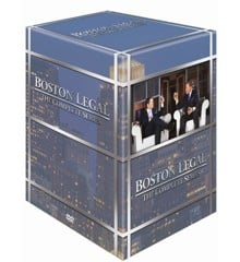 Boston Legal - Sæson 1-5 - (27 disc) - DVD