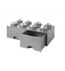 Room Copenhagen - LEGO Brick Skuffekasse 8 - Grå