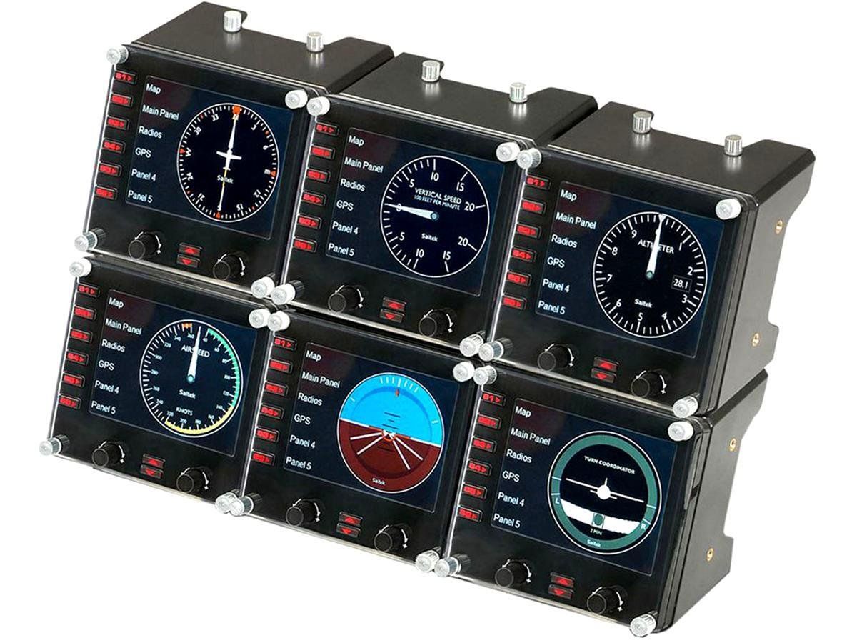 Logitech - G Saitek Pro Flight Instrument Panel