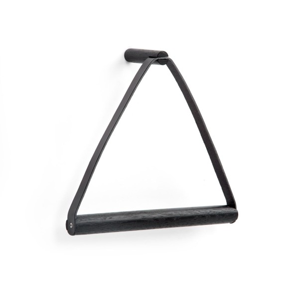 By Wirth - Towel Hanger - Black (THA 065)