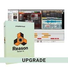 Propellerhead - Reason 10 Upgrade (From Essentials / Ltd/ Adapted Versions) - Music Production Software (DOWNLOAD)